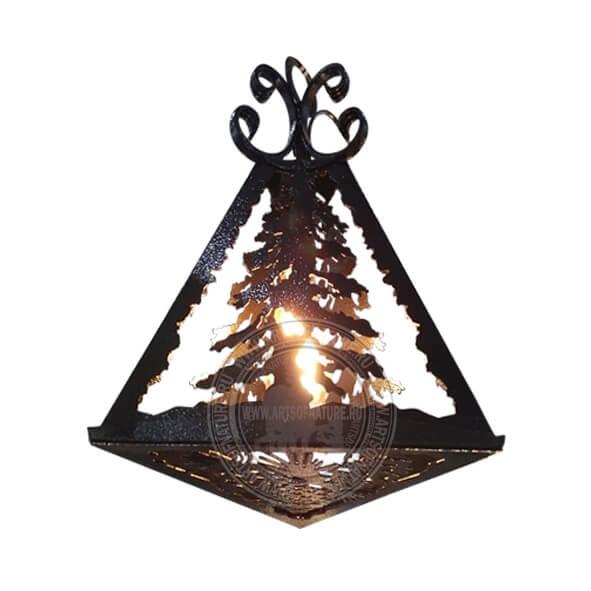 Подвесной трехгранный фонарь (2)