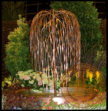 Фонтан-дерево Плакучая ива 2 (Weeping willow)_
