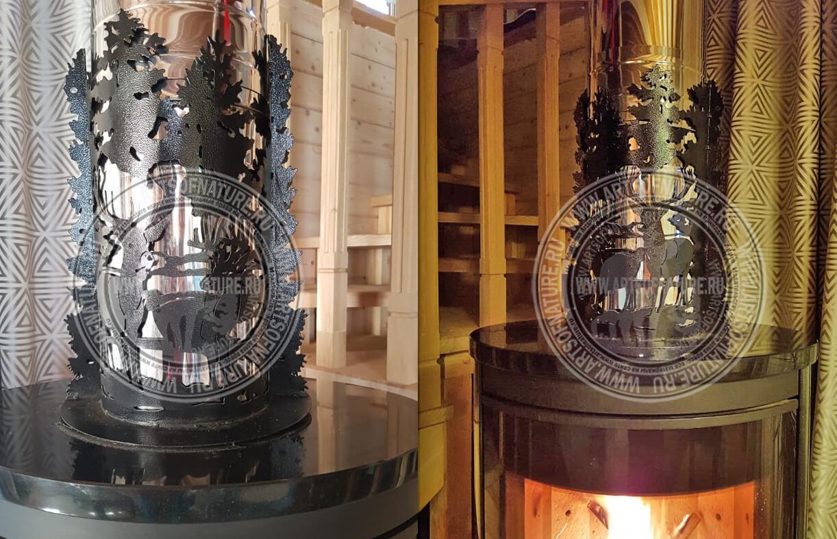 Декор для трубы дымохода банные печи и дымоходы к ним в красноярске