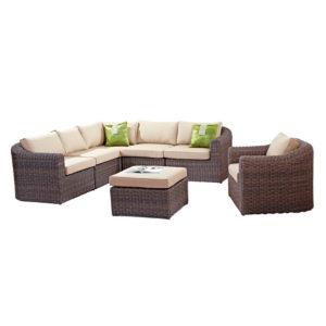 Комплект плетеной мебели Alexander Rose №43 (мебельная группа для гостиной или террасы)